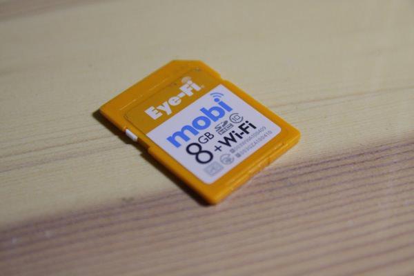 """【 Eye-fi mobi 】スマートフォンにお気に入りの「レンズ」を使う""""自由""""が楽しめる魔法のカード"""