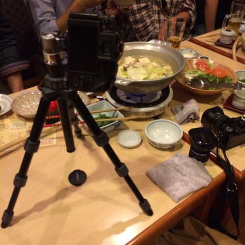 鍋記念写真