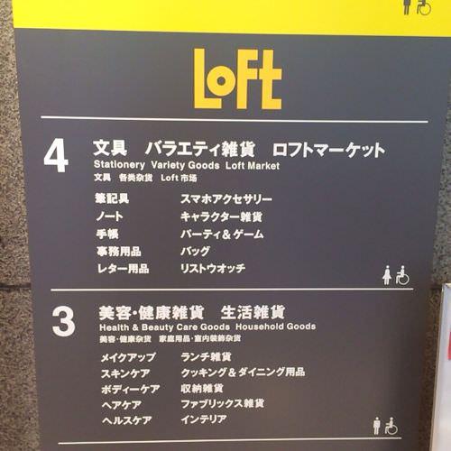LOFT案内