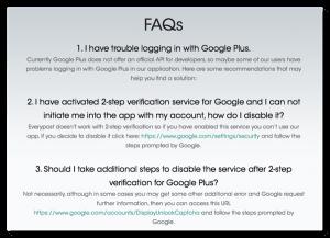 Everypost (iPhone  SNSアプリ) 二段階認証なのでアプリケーション固有のパスワードを作ってもGoogle+にログインできない