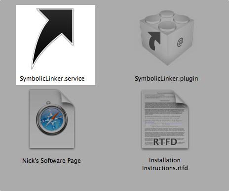 Symboliclinker install 01