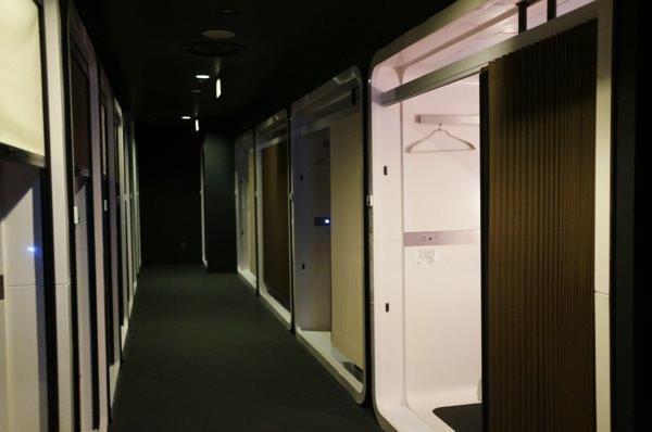 羽田空港でお風呂に入れるFirstCabin 施設風景