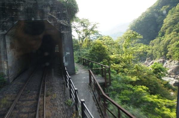 笠置手前の風景 関西本線