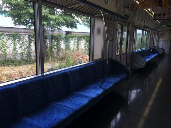JR東海 300系 列車 ブルー(青色)シート