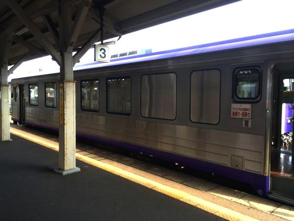 亀岡駅3番ホーム