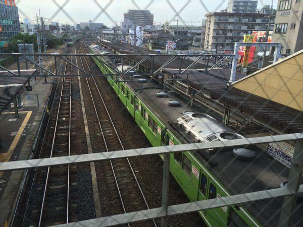 関西本線 柏原駅