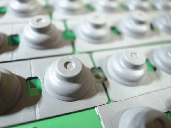 HHKB Professional2 Type-Sを分解 ラバー