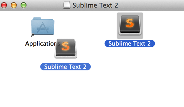 Sublimetext2