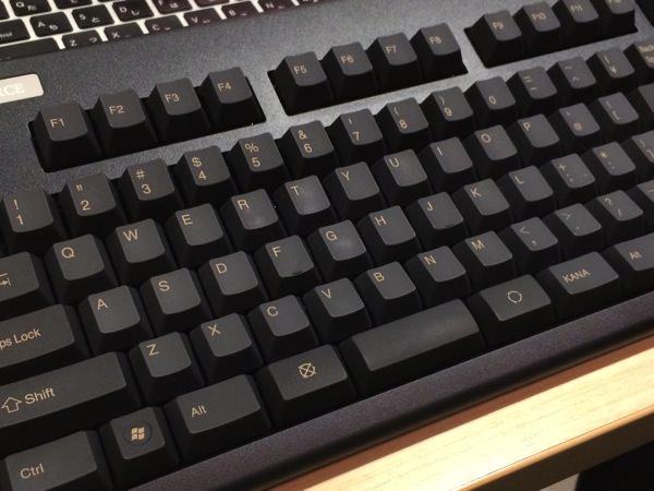 Macで 東プレ REALFORCE91UBK-S (変加重モデル)を設定