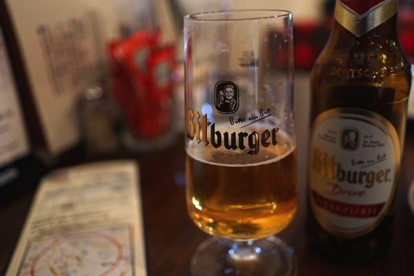 ノンアルコールビールもありました
