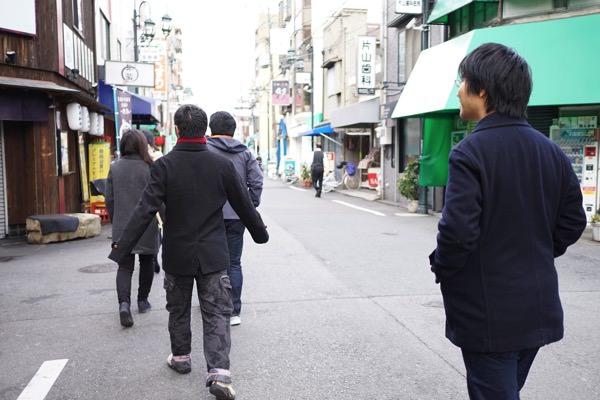 十三の町を歩く