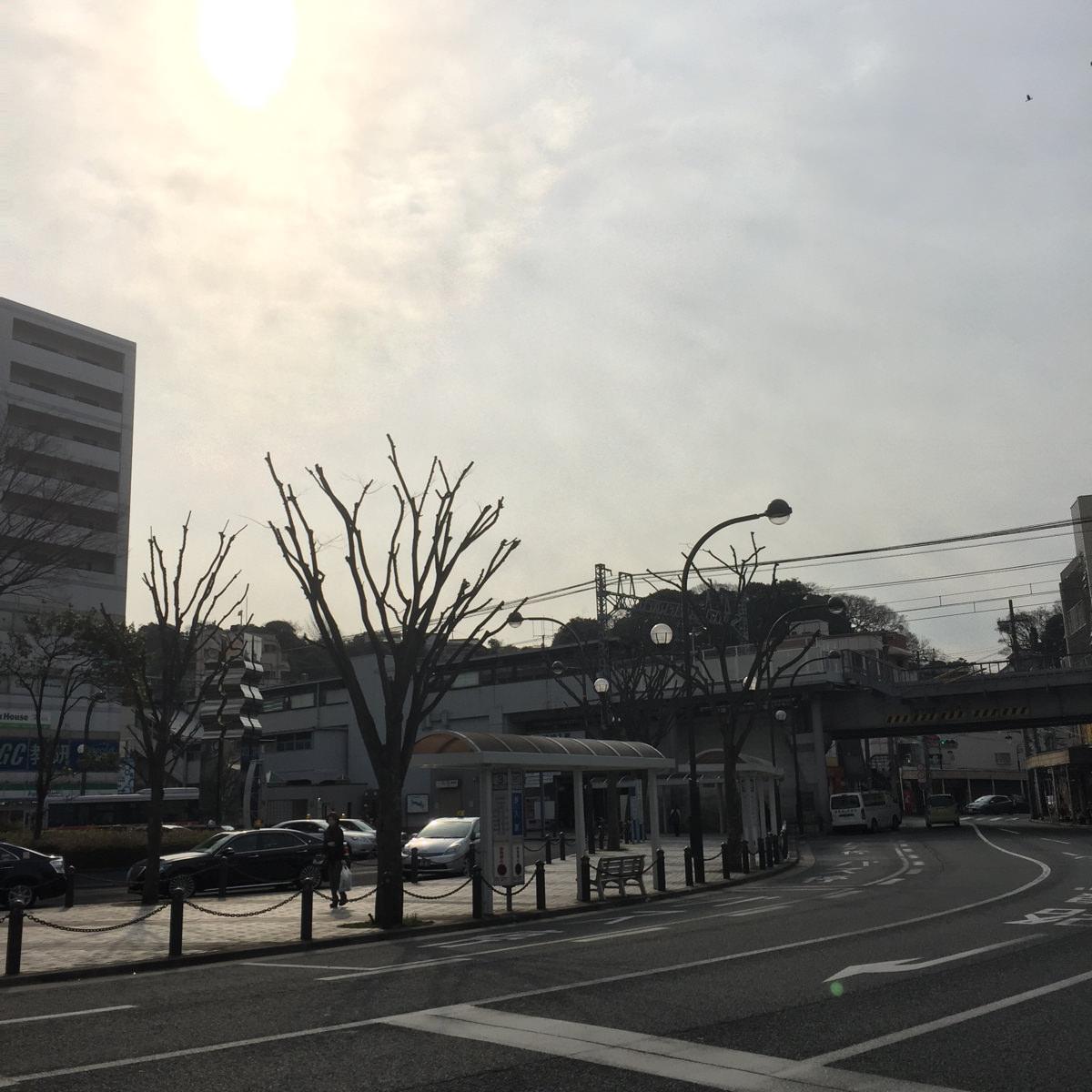 朝の横須賀