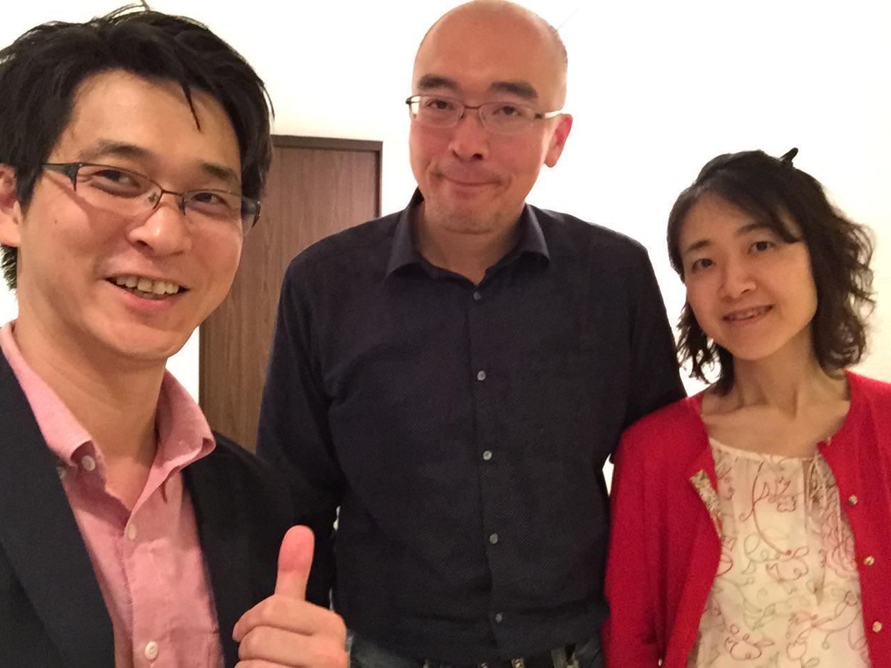 立花岳志さんと一緒の写真