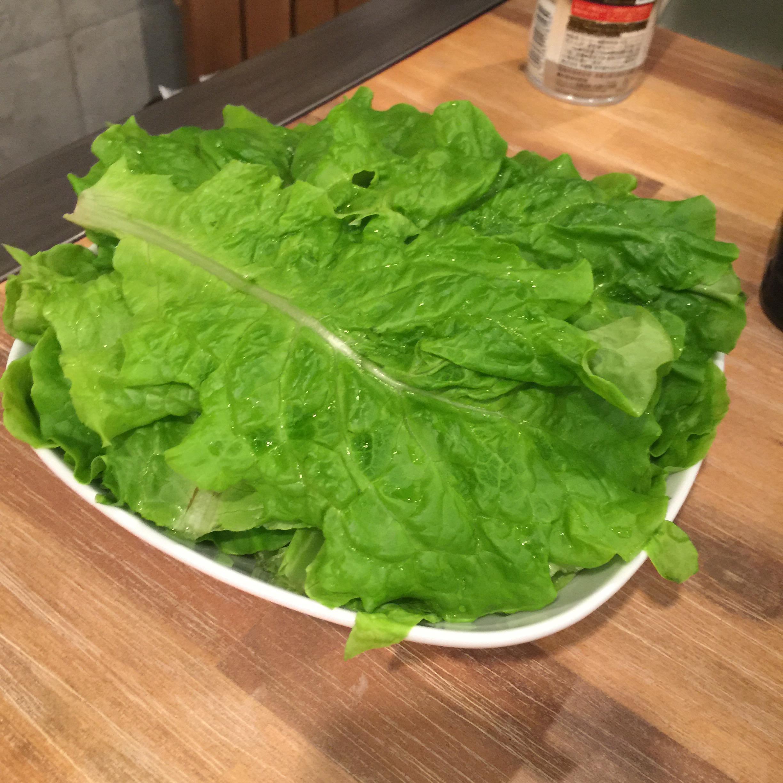 サンチェ サラダの写真