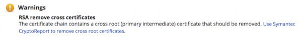 SSL証明書インストールチェッカーのエラーメッセージ