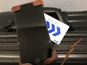 iPhoneとEX-ICカード